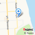 Следственный изолятор №1 на карте Кирова