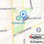 ЭР-Телеком Холдинг на карте Кирова
