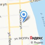 Газпром межрегионгаз Киров на карте Кирова