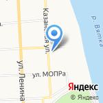 Специализированный отдел ЗАГС регистрации смерти по г. Кирову на карте Кирова