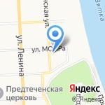 Кировский сельский строительный комбинат на карте Кирова