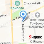 Апрель на карте Кирова