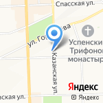 Палитра на карте Кирова