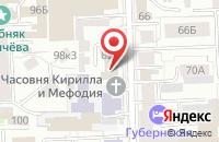 Схема проезда до компании Мечта-тур в Кирове