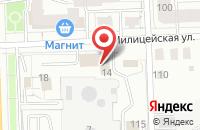 Схема проезда до компании Этюд в Кирове