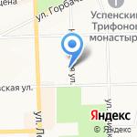 Часовня святых равноапостольных Кирилла и Мефодия на карте Кирова