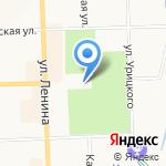 Вятская филармония на карте Кирова