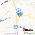 Сеть магазинов и киосков по продаже мяса птицы на карте Кирова