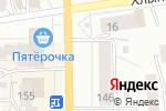 Схема проезда до компании Хлебное Изобилие в Кирове