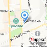 Вятские народные художественные промыслы на карте Кирова