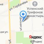7 ХОЛМОВ на карте Кирова