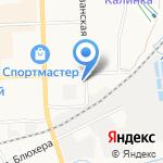 Магазин автозапчастей для корейских автомобилей на карте Кирова
