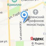Следственный отдел по Первомайскому району на карте Кирова