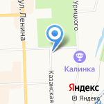 Федерация оздоровительно-спортивного туризма Кировской области на карте Кирова