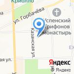 Чайная лавка большого И на карте Кирова