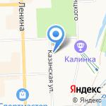 Тату-студия Павла Кирилловых на карте Кирова