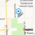 Санкт-Петербургский гуманитарный университет профсоюзов на карте Кирова