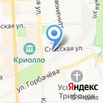 Lucy Bogush на карте Кирова