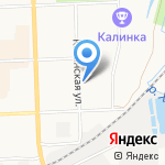 Промсети на карте Кирова