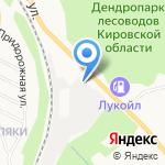 Сошени на карте Кирова