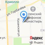 Государственный архив Кировской области на карте Кирова