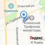 Гранд Комфорт на карте Кирова