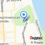 Поляна сказок на карте Кирова