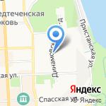 Юность на карте Кирова