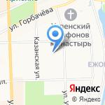 Торнадо на карте Кирова