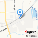 Областная продовольственная компания на карте Кирова