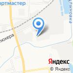 Близнецы на карте Кирова