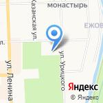 Учебно-спортивный комплекс на карте Кирова