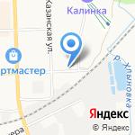 Магазин автозапчастей для Нива на карте Кирова
