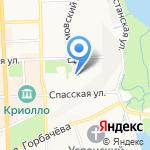 Кедар на карте Кирова