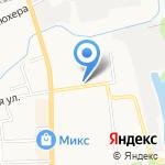 Николь на карте Кирова