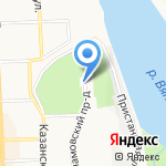 Динамовская на карте Кирова