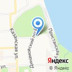 Терминал Вятка на карте Кирова