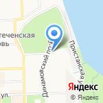Фейерверк на карте Кирова