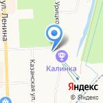 Львенок на карте Кирова