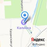 Калинка-Морозовъ на карте Кирова