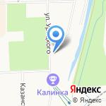 Скороход на карте Кирова