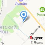 Лига Ставок на карте Кирова