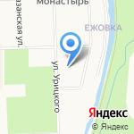 Шалуны на карте Кирова