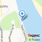 Усадьба Булычева на карте Кирова