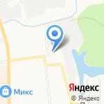 Кировская городская больница №4 на карте Кирова