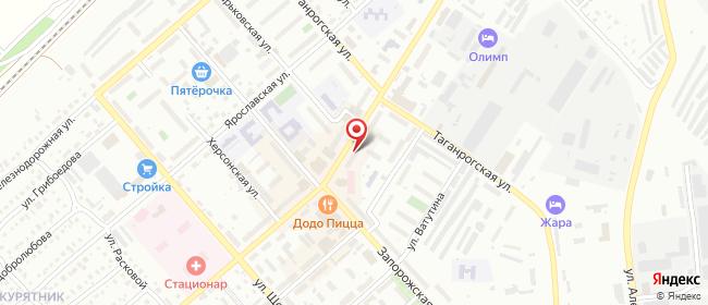 Карта расположения пункта доставки Чапаевск Ленина в городе Чапаевск