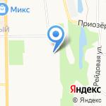 Инчер на карте Кирова