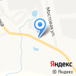 Автокранборт на карте Кирова