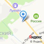 Северянка на карте Кирова