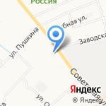Клумба на карте Кирова